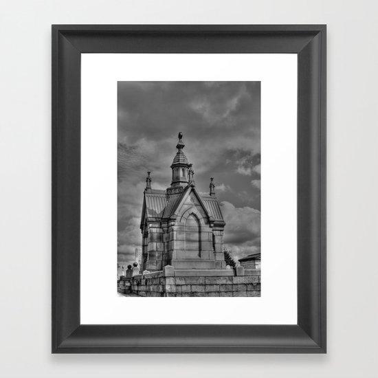 The Mausoleum Framed Art Print