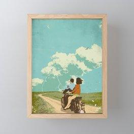STORM CHASERS Framed Mini Art Print