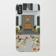 Autumn leaf game Slim Case iPhone X