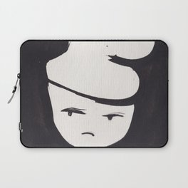 Catty Does Not Approve   | 181218 Faces Watercolour Kawaii Laptop Sleeve