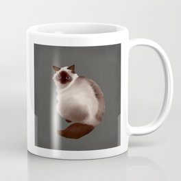 Fluffy Cat Coffee Mug