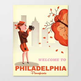 Philadelphia, Pennsylvania Canvas Print