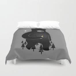 Lost in the wood Duvet Cover