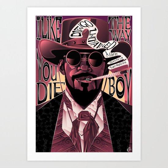 Django Poster Art Print