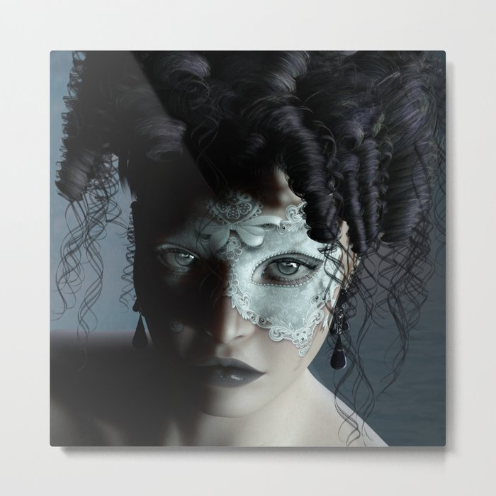 Midnight masquerade Metal Print