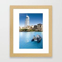 Downtown Dubai Framed Art Print