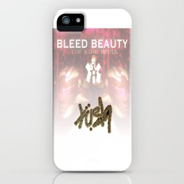 Bleed Beauty iPhone Case