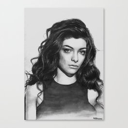Lorde Canvas Print