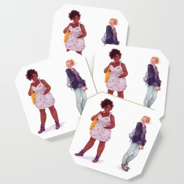 Tess and Claire Coaster