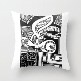 Bugs Bunny Throw Pillow