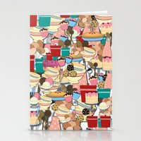 baking Stationery Cards featuring Baking by Joke Vermeer
