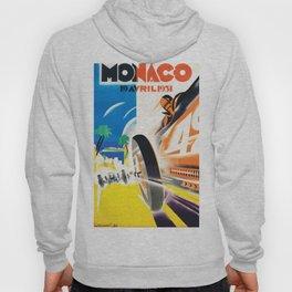 Grand Prix Monaco, 1931, vintage poster Hoody