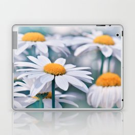 Marguerite blue 032 Laptop & iPad Skin