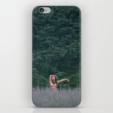 Blurry Greens iPhone & iPod Skin