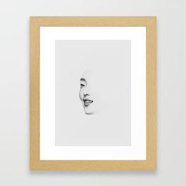 Glimpse Framed Art Print