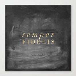 Semper Fidelis Canvas Print