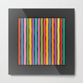 dp203-11 Colorful Stripes Metal Print