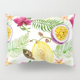 Fruits and Flowers Pillow Sham