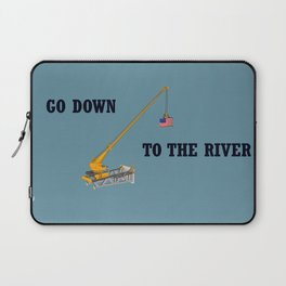 Go down to the river Laptop Sleeve
