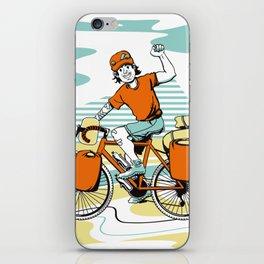 Bicycle Boy iPhone Skin