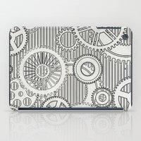 stark iPad Cases featuring Stark Gears by Samantha Lynn