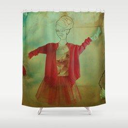 Street Dancer Shower Curtain