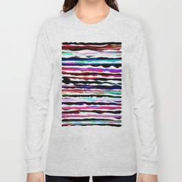 colorful brush strokes design Long Sleeve T-shirt