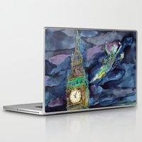 peter pan Laptop & iPad Skins featuring Peter Pan by Kris-Tea Books