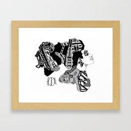 AT LAST I AM FREE; SOUL WOMAN Framed Art Print