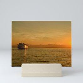 Ferry Mini Art Print