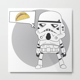 Trooper TK-O Metal Print