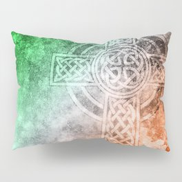 Irish Celtic Cross Pillow Sham