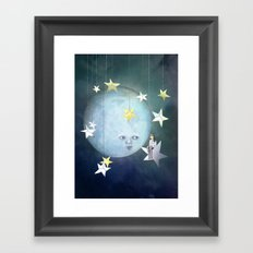Hanging with the Stars Framed Art Print