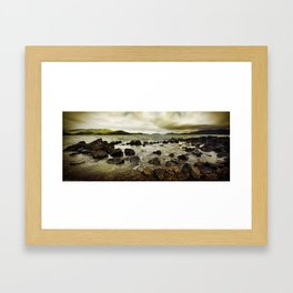 Day Dream Island Shores Framed Art Print