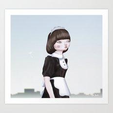 Air Doll Art Print