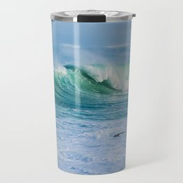 Breaking Waves Travel Mug