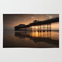 Cromer Pier Dawn Rug