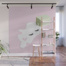 Don't cry over spilled milk Wall Mural