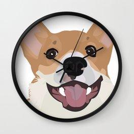 Corgi design Wall Clock