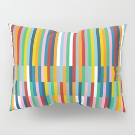 Brick Columns Pillow Sham