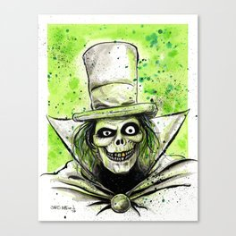 Hat Box Ghost Canvas Print