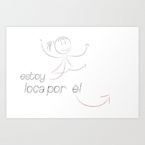 love (her) Art Print