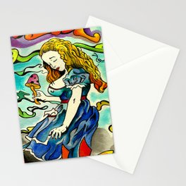 Alice in Wonderbra  Stationery Cards