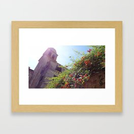 Venice Sun Framed Art Print
