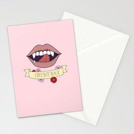 Girls Bite Back! Stationery Cards