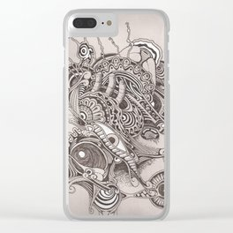 Strangeness Clear iPhone Case
