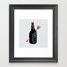 Heartbreak Framed Art Print