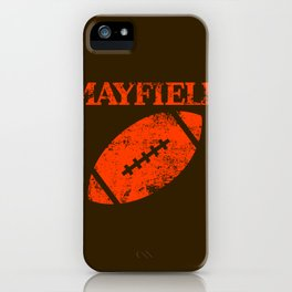 Mayfield iPhone Case