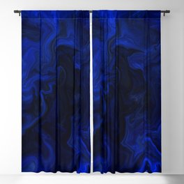 Indigo Flow Blackout Curtain
