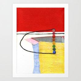 Rainbow Box Art Print